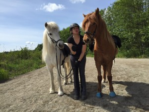 Duktiga passhästar på Sundbyholm!