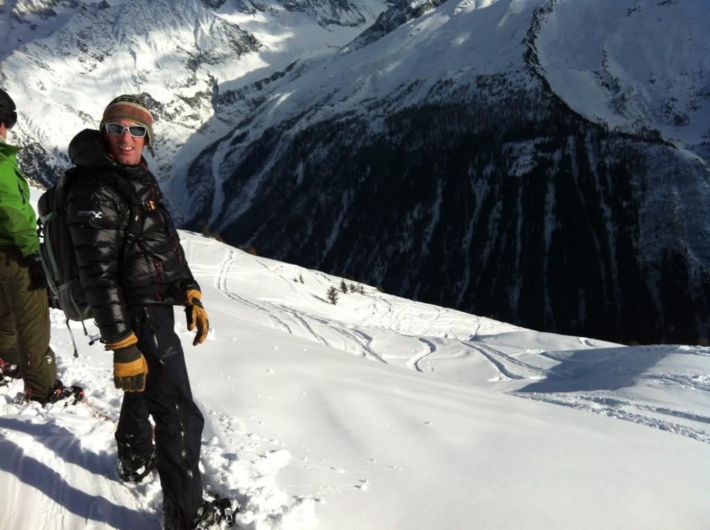 UCPA offpist Snowboard